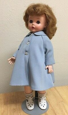 """50's Doll15"""" KELLY, twist waist Great Condition, Madam Alexander,Tagged Clothes"""