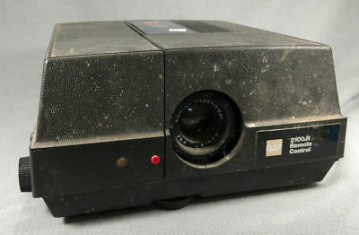 GAF Slide Projector 2100R  Vintage UNTESTED  used PARTS ONLY ANB