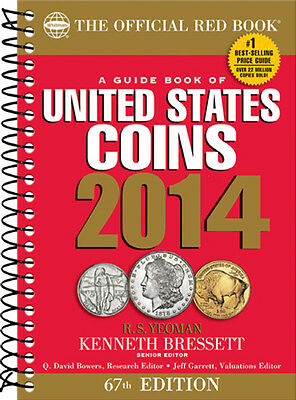 2014 Spiral Redbook - The Official Guide Of United States Coins