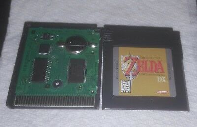 Legend of Zelda: Link's Awakening DX (Nintendo Game Boy Color, 1998) Authentic