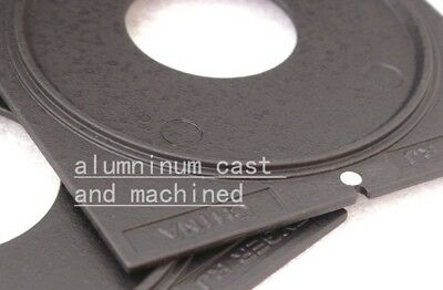 center hole Lens board COPAL #0 or #3 for LINHOF technika wista ShenHao