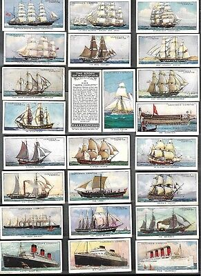 Free Post*  Full Set 50The Story Of Navigationchurhman 81 Yrs Cigarette Cards