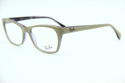 4639e4feea New Ray-Ban Jr Rb 5298 5387 Beige Eyeglasses Rb5298 Authentic Frame Rx 53-