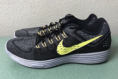 ... 2 Sensitive Cushioning  timeless design ae036 5bb4c Nike Lunartempo  Black Yellow Grey Mens Sz 13 Trainers Running Shoes NEW ... 24565350bd08