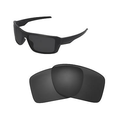 0014625a35c New Walleva Black Polarized Replacement Lenses For Oakley Double Edge  Sunglasses