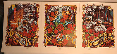 Bobby & Phil Duo Tour 2018 Artist Edition Triptych by Aj Masthay #29 of only 50