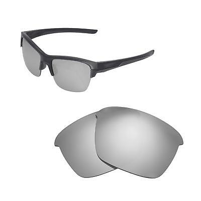 1fdabf242b New Walleva Titanium Polarized Replacement Lenses For Oakley Thinlink  Sunglasses