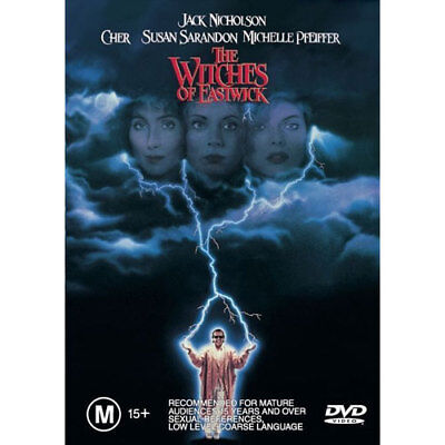 The Witches Of Eastwick NEW DVD (Region 4 Australia)