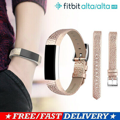 Alta HR Adjustable Replacement Bracelet For Fitbit Alta Strap Leather Band Sport