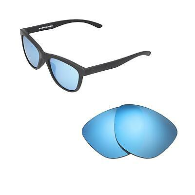 97ff309632 Walleva Ice Blue Polarized Replacement Lenses For Oakley Moonlighter  Sunglasses
