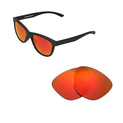 83daab4dcc Walleva Fire Red Polarized Replacement Lenses For Oakley Moonlighter  Sunglasses