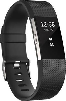 FitBit Charge 2 Fitness-Tracker L Schwarz