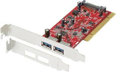 2 Port USB 3.0-Controllerkarte USB-A PCI Renkforce