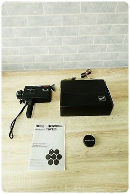 Bell & Howell T20XL Personal Portable Cine Movie Super 8 Camera 8mm