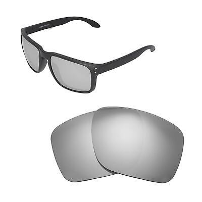 24c03bf498a19 Walleva Titanium Polarized Replacement Lenses For Oakley Holbrook XL  Sunglasses