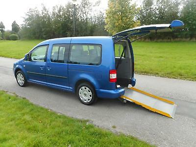 2010 Volkswagen Caddy Maxi Life 1.9 Tdi Automatic WHEELCHAIR ACCESSIBLE VEHICLE