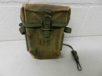 Vintage US Army Canvas Ammo Pouch Ammunition