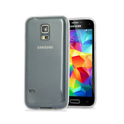 Ultra Thin Transparent TPU Case Back Cover For Samsung Galaxy S5 Mini