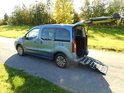 2015 Peugeot Partner Tepee 1.6 VTi 5 Seats WHEELCHAIR ACCESSIBLE ADAPTED VEHICLE
