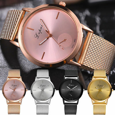 Fashion Quartz Wrist Watch Womens Ladies Silicone Strap Analog Casual Watches