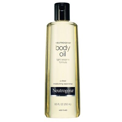 Neutrogena Body Oil 250ml Sesame Smooth Skin Moisturizing After Bath Care