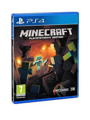 Mojang Minecraft Playstation 4 PS4 Edition Adventure Action Shooter Game Ages 7+