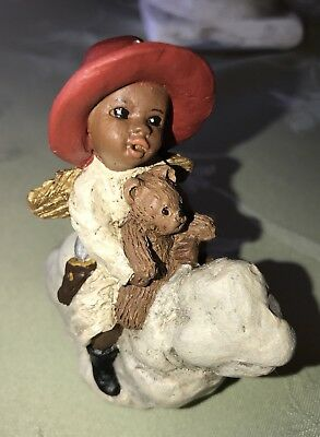 "ALL GOD'S CHILDREN Ornament By Martha Holcombe ""ERIC"" Black Americana W/COA"