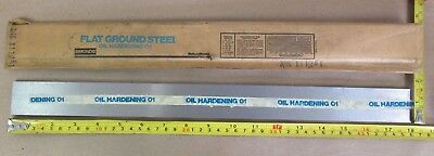 AISI Type O1 Tool Steel Oil Hardening Flat... Made in USA 36 x 1//2 x 1//16 Inch