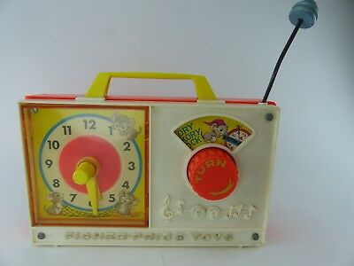 Vintage Fisher Price Spieluhr aus  70er Jahren Made in japan