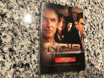 Ncis The Complete 1St First 1 Season New Sealed Dvd 6 Disc Set Mark Harmon Crime