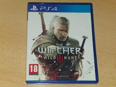 The Witcher III 3 Wild Hunt PS4 Playstation 4 **FREE UK POSTAGE**