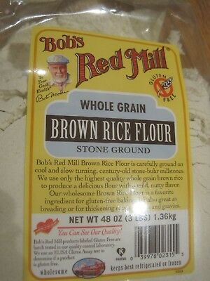 Bob's Red Mill Brown Rice Flour-Gluten Free 48 oz