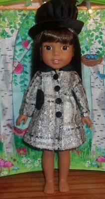 "Americanfasionworld Clothes for 14.5"" Wellie Wishers AG Dolls"