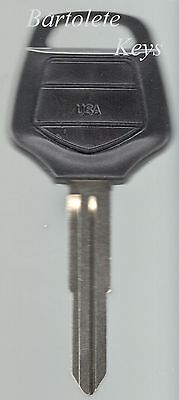 Replacement Key Blank Fits Honda GoldWing Gold Wing