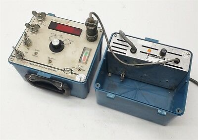 BIDDLE 247000 DLRO DIGITAL LOW RESISTANCE OHMMETER w/15572-1 BATTERY CHARGER