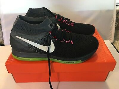sports shoes 98da6 681c0 Nike Women s Zoom All Out Flyknit Running Shoes 845361 002 Size 10