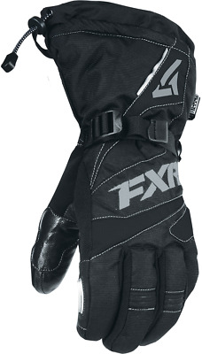 Fxr Mens Fuel Black/charcoal Cold Weather Snowmobile Gloves -S -M -L- Xl-2Xl-New