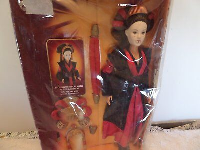 """STAR WARS EPISODE 1 QUEEN AMIDALA COLLECTION ROYAL ELEGANCE 12"""" Barbie Size"""