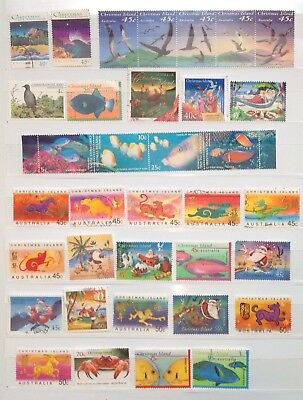 Christmas Island Fine Used Stamps (50 stamps & 1 M/ S)