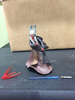 STAR WARS AOTC 2002 Loose SHAAK TI JEDI FIGURE