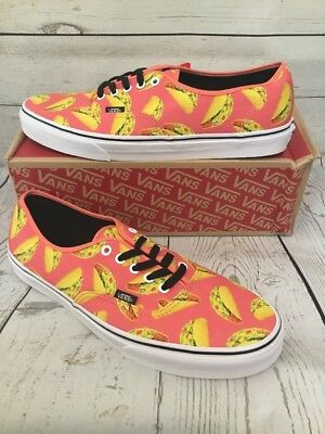 VANS AUTHENTIC (LATE Night) Coral Tacos Mens 11.5 -  50.00  cb618be5a