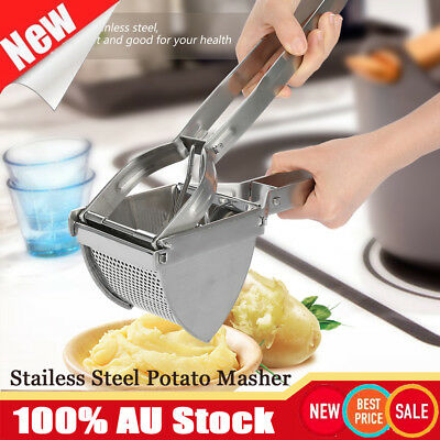 NEW Kitchen Stainless Steel Mash Potato Ricer Masher Fruit Juicer Maker Press
