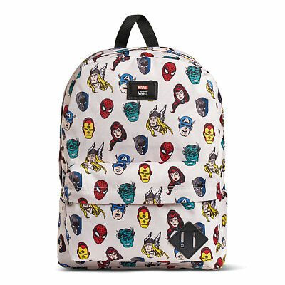 1ede98305763 VANS x MARVEL HEADS Old Skool 2 Backpack (NEW) Superheroes SCHOOL BAG Free  Ship