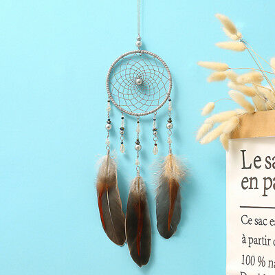 Dream Catcher With feather Wall Hanging Decoration Bead Ornament Home Room Decor