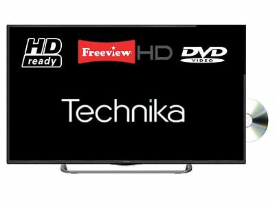 "Technika 32G22B-HDR/DVD 32"" Slim LED TV DVD Combi HD Ready 720p With Freeview HD"