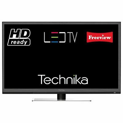 "Technika 24F22B-HD 24"" Slim LED TV With Built In Freeview HD Ready USB Port"