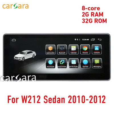 """2G 10.25"""" touch screen Android Navigation for Benz E Class w212 sedan 2010-2012"""