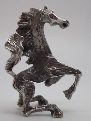 Vintage Solid Silver Italian Made by Raspini Horse Statue, Figurine, Stamped