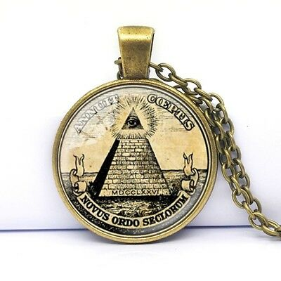 COLGANTE PIRAMIDE CON OJO 3X2,5CM DORADO NECKLACE PYRAMID WITH EYE PENDANT