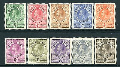 SWAZILAND-1933 Set to 10/ All Sg 11-20 AVERAGE MOUNTED MINT V25759